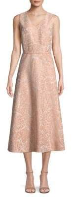 Lafayette 148 New York Aileen Jacquard A-Line Dress