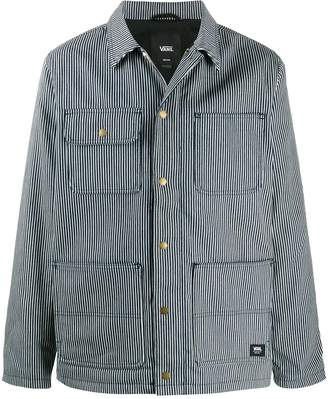 Vans hickory stripe shirt jacket
