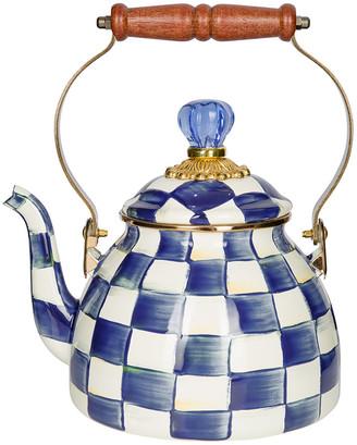 Mackenzie Childs MacKenzie-Childs - Royal Check Tea Kettle - Small