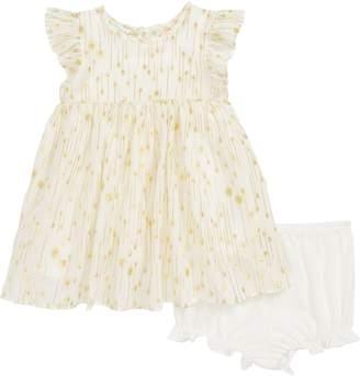 Pippa & Julie Flutter Sleeve Dress