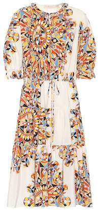 Tory Burch Arabella printed silk dress