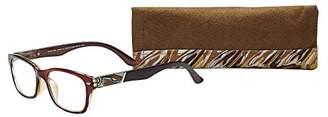 SAV Eyewear (Select-A-Vision) Victoria Klein Fashion Round Reading Glasses 9078