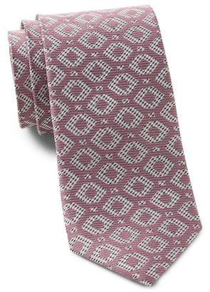 Ted Baker Diamond Geo Silk Tie