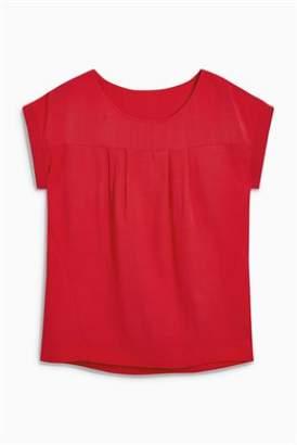 Next Womens Ecru Boxy T-Shirt