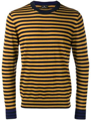 Paul Smith striped knitted sweatshirt