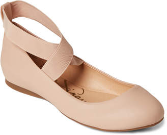 e7c852d502a Jessica Simpson Ballerina Mayday Ankle Strap Flats