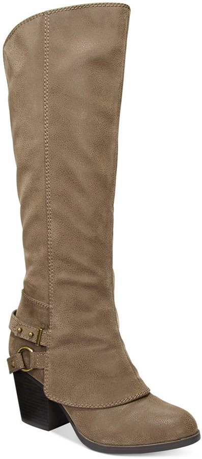 American RagAmerican Rag Eboni Cuffed Boots, Only at Macy's