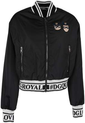 Dolce & Gabbana Embroidered Zipped Bomber