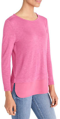 J.Crew MERCANTILE Long-Sleeve Draped Tee