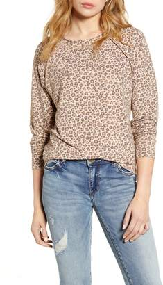 Caslon Cozy Print Sweatshirt