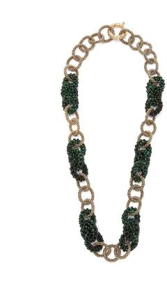 Rosantica BY MICHELA PANERO Carramato bead-embellished necklace