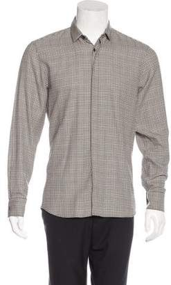 Neil Barrett Slim Fit Houndstooth Shirt