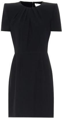 Alexander McQueen Short-sleeved minidress