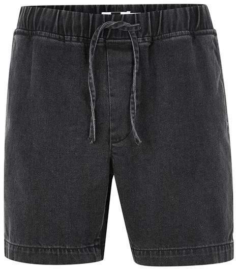Jeans-Shorts, schwarz