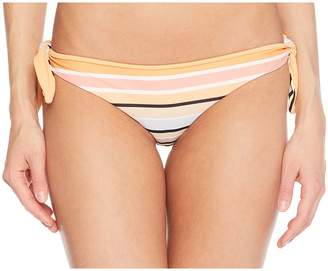 RVCA Horizon Stripe Cheeky Bottom Women's Swimwear