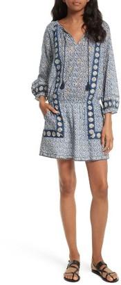 Women's Joie Almee Print Cotton Blouson Dress $288 thestylecure.com
