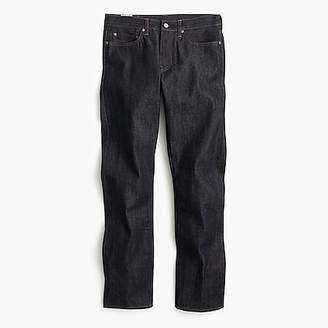 J.Crew 1040 Athletic selvedge jean in raw indigo