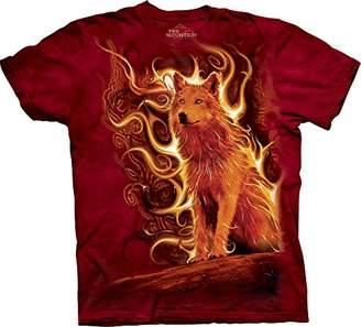 The Mountain Men's Phoenix Wolf T-Shirt