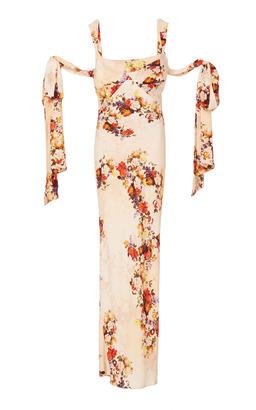 Markarian Aquarius Floral Dress