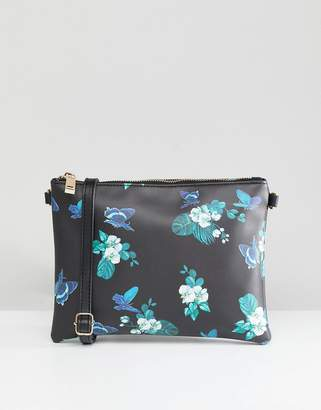 Oasis Floral Print Cross Body Bag