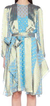 Diane von Furstenberg 'waist Tie Draped' Dress
