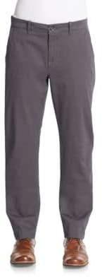 Saks Fifth Avenue Slim-Fit Stretch-Cotton Pants