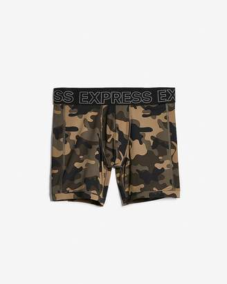 Express Camo Print Performance Boxer Briefs