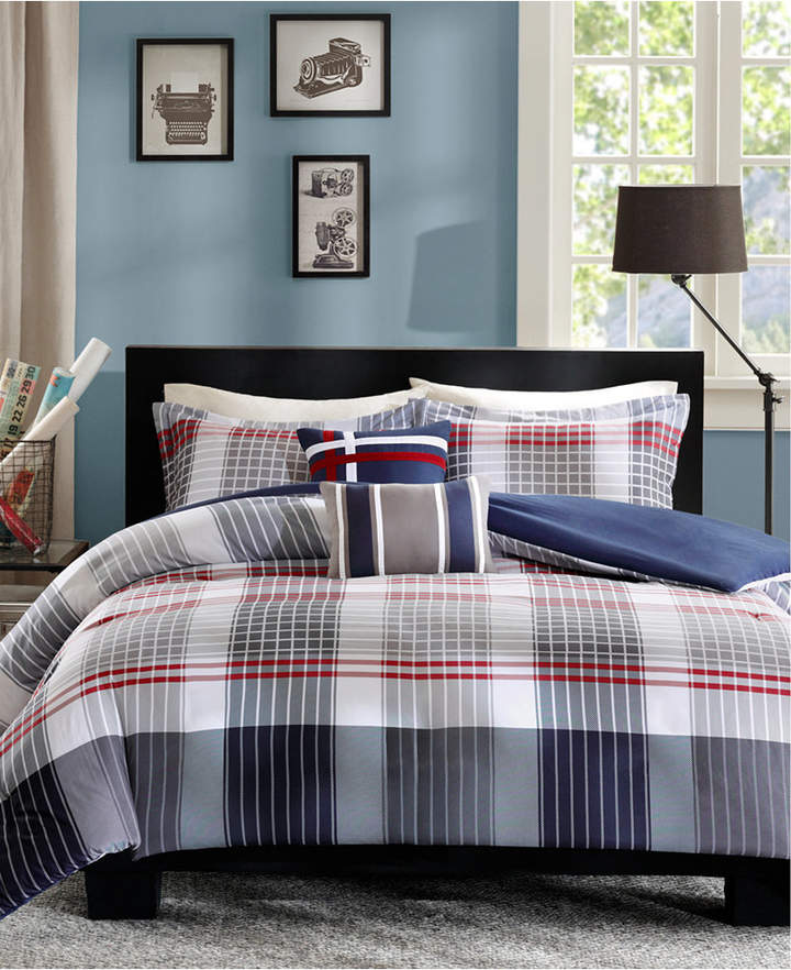 Intelligent Design Caleb 4-Pc. Twin/Twin Xl Duvet Cover Set Bedding