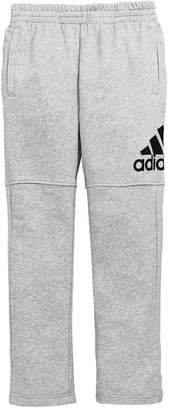 adidas Boys Logo Pants - Medium Grey Heather
