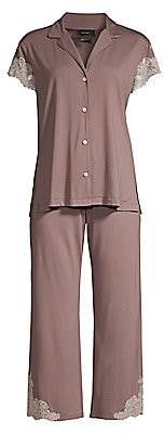 Natori Women's 2-PieceLux Shangrila Pajama Set