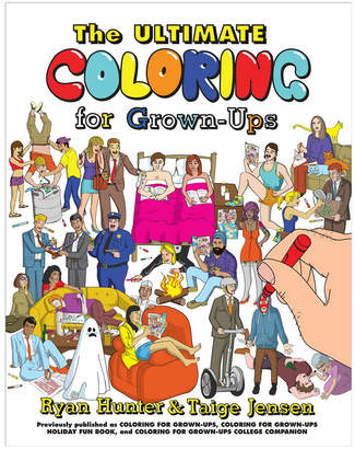 Penguin Random House Ultimate Coloring For Grown-Up