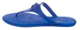 Versace Medusa Thong Sandals w/ Tags