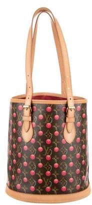 Louis Vuitton Cerises Bucket Bag Brown Cerises Bucket Bag