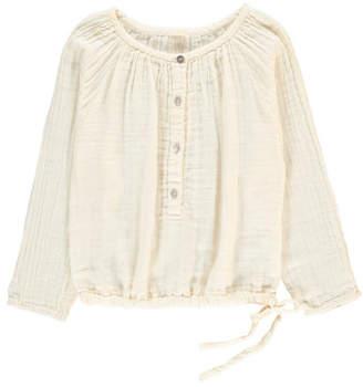 Numero 74 Naia Long Sleeve Blouse Off white