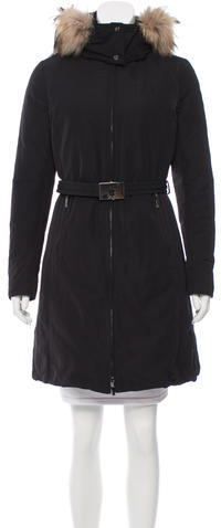 MonclerMoncler Belted Down Coat