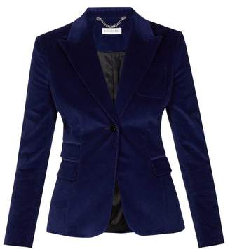Altuzarra Midge Corduroy Jacket - Womens - Blue