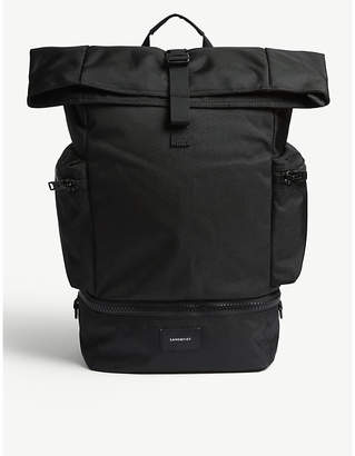 SANDQVIST Black Verner Backpack