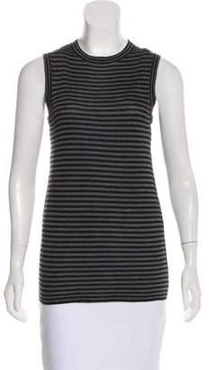 Jenni Kayne Cashmere-Blend Striped Top