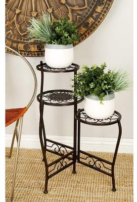 Cole & Grey Metal Multi-Tiered Plant Stand