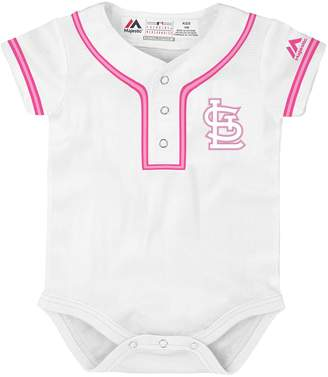 Majestic Baby St. Louis Cardinals Cool Base Replica Jersey Bodysuit