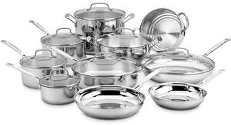 Cuisinart 17 Piece Chef's Classic Stainless Cookware Set