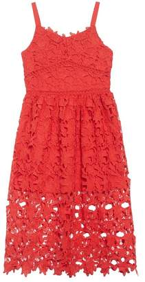 Trixxi Floral Lace Dress (Big Girls)