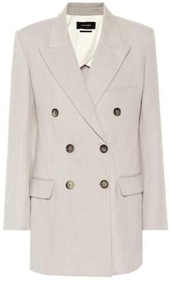 Isabel Marant Kleigh cotton and linen blazer