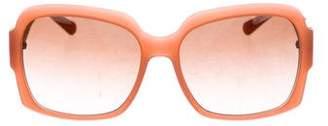 Tory Burch Square Gradient Sunglasses