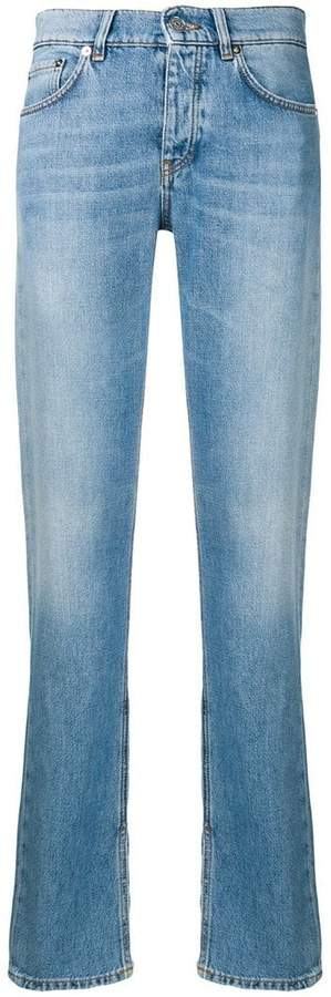 Ganni straight leg jeans