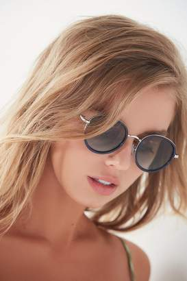 Urban Outfitters Avril Round Metal Sunglasses