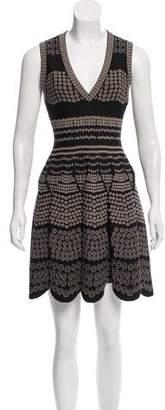 Alaia Jacquard Mini Dress