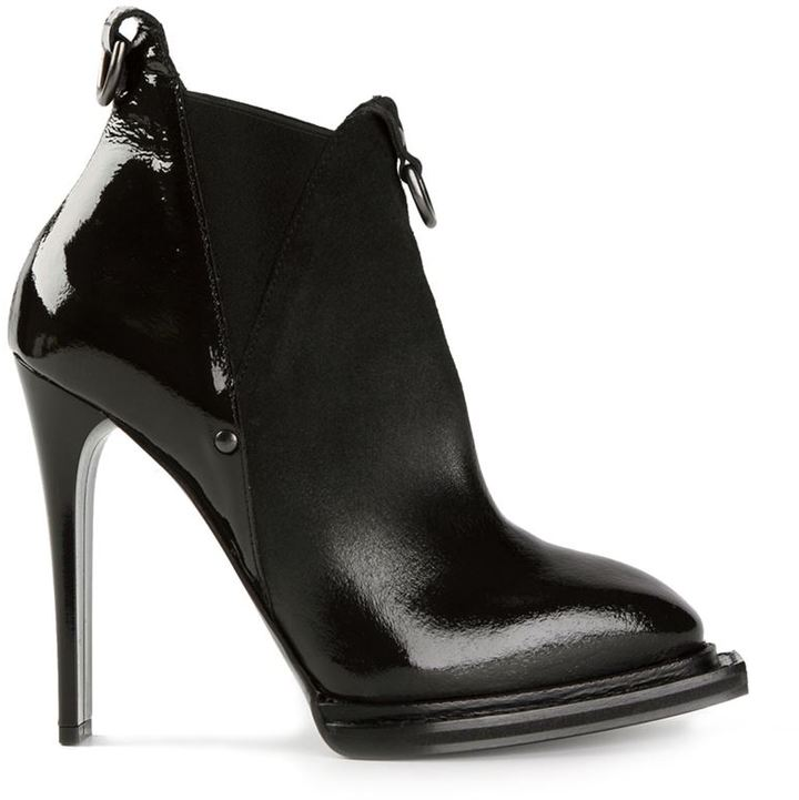 McQ almond toe ankle boot