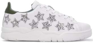 Chiara Ferragni star pattern sneakers