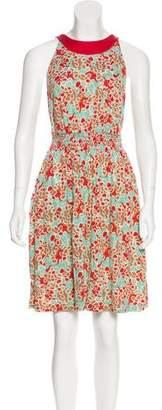 Diane von Furstenberg Print Silk Dress